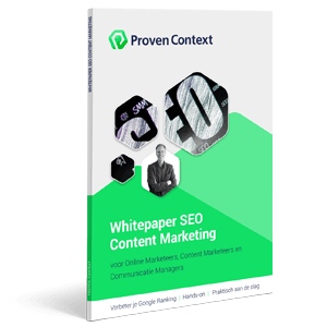 Ebook - Whitepaper SEO Content Marketing - Proven Context