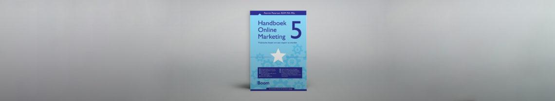 Het Handboek Online Marketing van Patrick Petersen bekijkt het traditionele marketingdenken vanuit een online context.