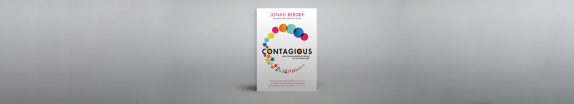 In zijn boek Contagious laat Jonah Berger met succes zien hoe je met content een viral kunt creëren.