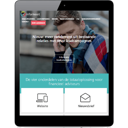 E-mail marketing strategie voor Informeert.