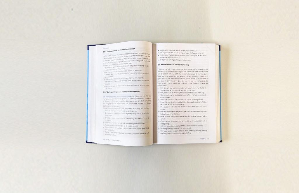 Opsomming in het Handboek Online Marketing