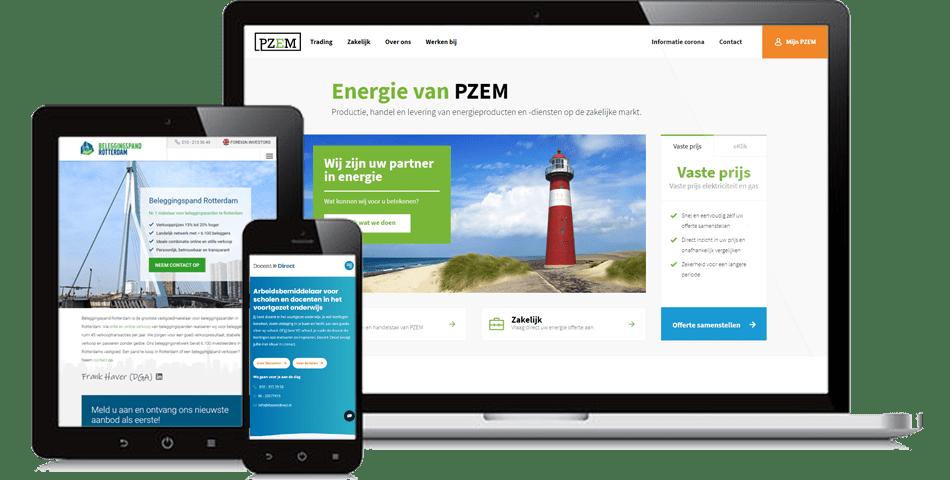 Communicatiebureau Zeeland devices