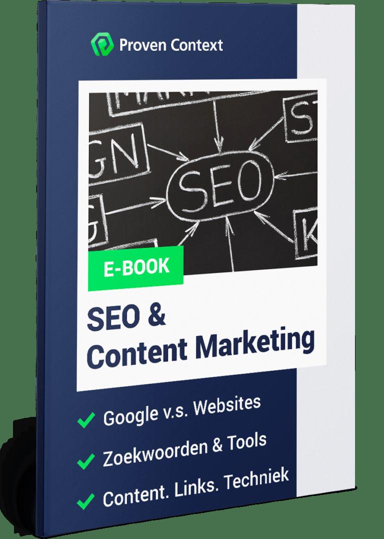 SEO en Content Marketing Ebook Whitepaper