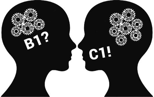 verschillende taalniveaus B1 en C1